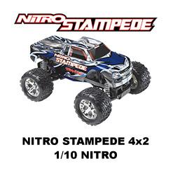 Nitro Stampede - 4x2 - 1/10 - Nitro