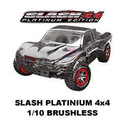 Slash Platinium - 4x4 - 1/10