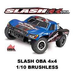 Slash OBA - 4x4 - 1/10 - VXL