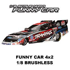 Funny Car - 4x2 - 1/8 - VXL