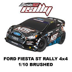 Ford Fiesta ST Rally - 4x4 - 1/10