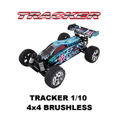 Tracker 1/10 4x4 Brushless