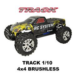 Truck 1/10 4x4 Brushless